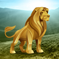 Play BigEscapeGames Gold Lion Land Escape