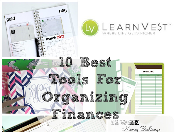 10 Best // Tools for Organizing Finances
