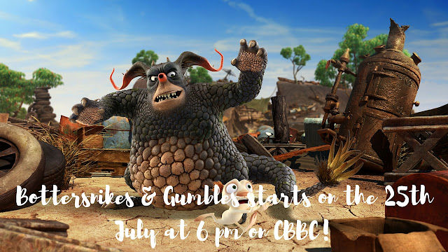 Bottersnikes & Gumbles begins on 25th July at 6 pm CBBC