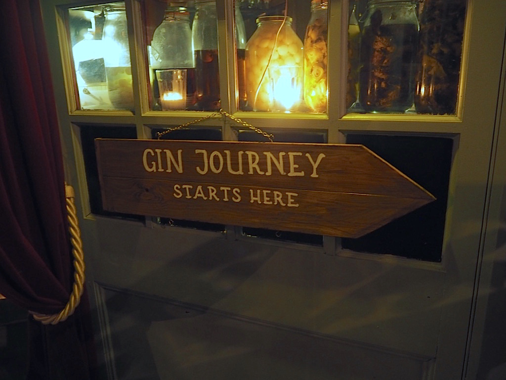 gin journey london