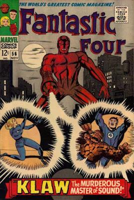 Fantastic Four #56, Klaw is back