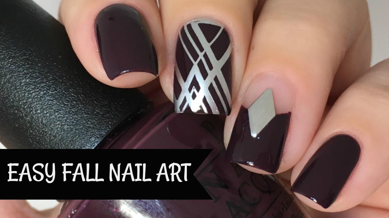 Nail Experiments: Easy Minimalistic Nail Art Tutorial | Step by Step ...