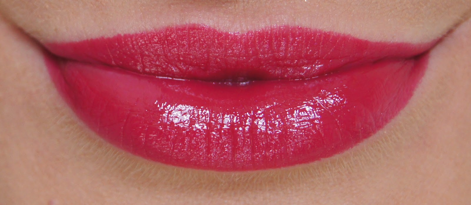 revlon colorburst lip butter raspberry pie swatch