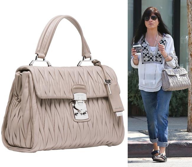 fc400dc9db Miranda Kerr`s MICHAEL Michael Kors  Riley  satchel bag.