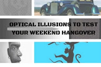 Optical illusions which will make you think as if you are drunk