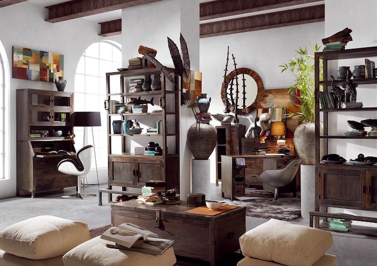 decoración estilo vintage