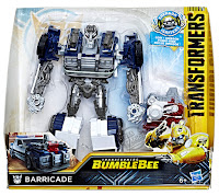 Hasbro Transformers Bumblebee Movie Nitro Series Barricade 001