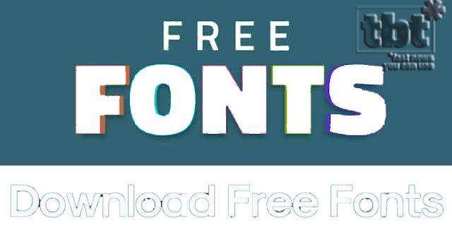 10 Situs Font Gratis Terbaik Download 2019