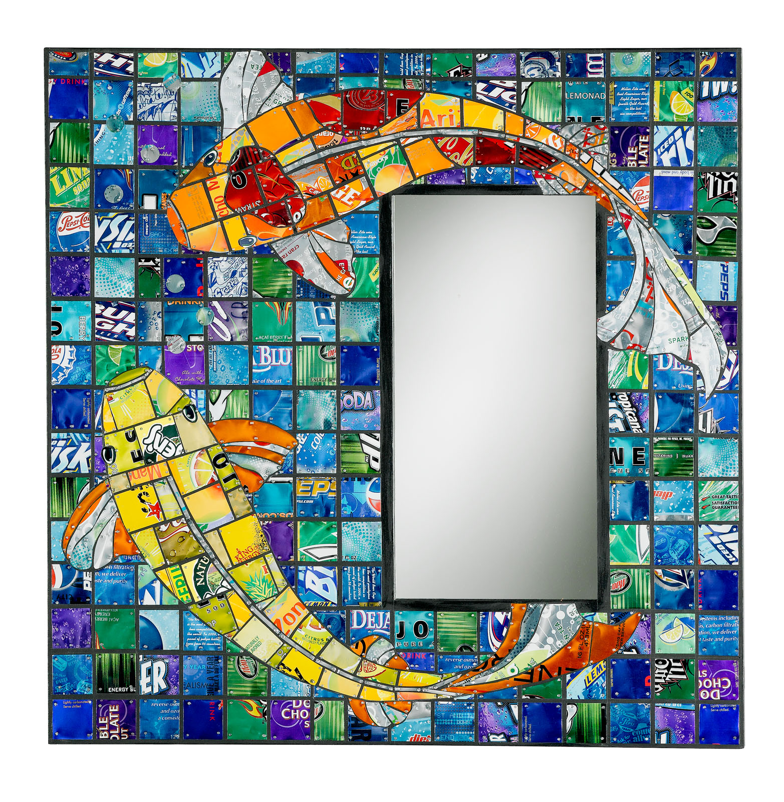 How To Recycle Mirror On The Wall Recycled Frame