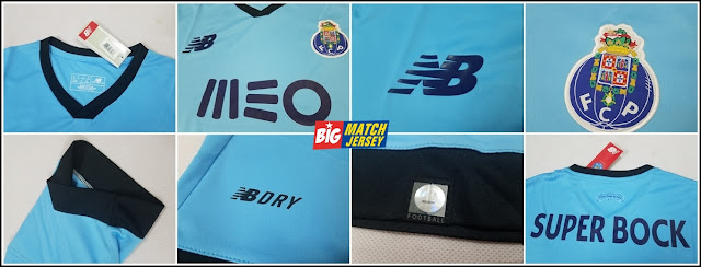 Detail Jersey Bola New Official Balance FC Porto 17-18 3rd SS Jersey - Air Blue