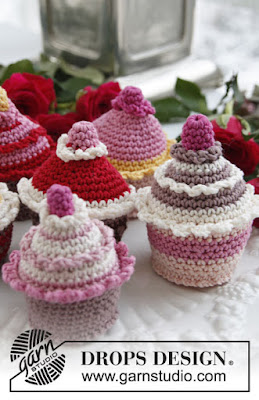 Cupcake au crochet