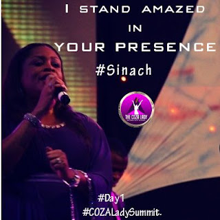 Music: Sinach - I Stand Amazed In Your Presence Download mp3 + Lyrics