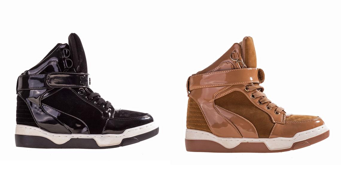 Sneakersi dama ieftini de toamna negri, khaki online