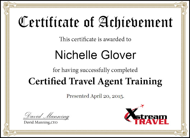CERTIFIED TRAVEL CONSULTANT