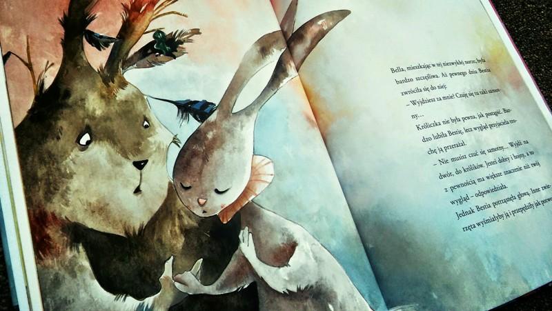 Piękna i Bestia po-uszająca historia miłosna Olesiejuk