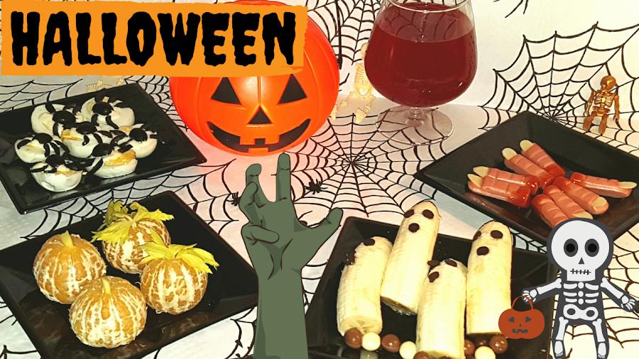 recetas de halloween para niños-terroríficas-fáciles-rápidas