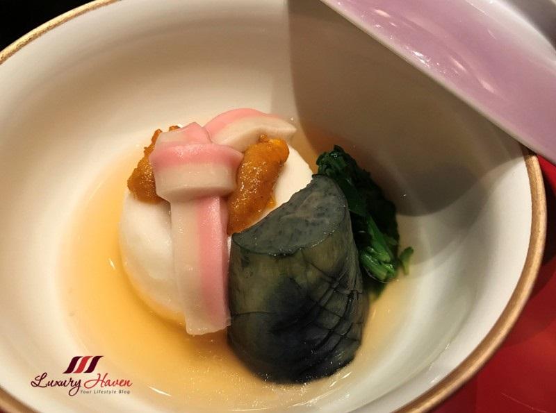 keio plaza soujuan kaiseki celebration menu