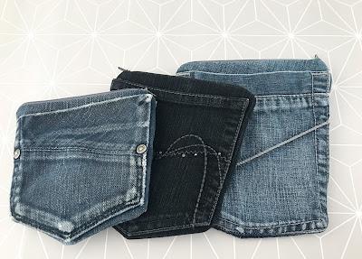 Täschchen aus Jeans nähen {Jeans Upcycling}