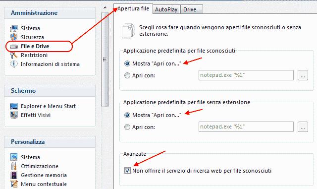 GT - File e Drive/Apri file