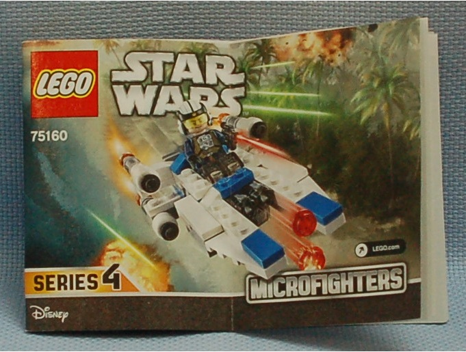 The Mobile Frame Garage Review 75160 Star Wars Microfighter Series