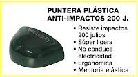 Puntera Anti-impactos 200 J.
