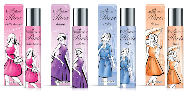 Enchanteur Paris Petite Parfum Wangian Terbaru Pilihan Wanita Moden