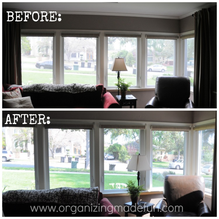 Yay, my windows are clean!! | Organizing Made Fun: Yay, my ...