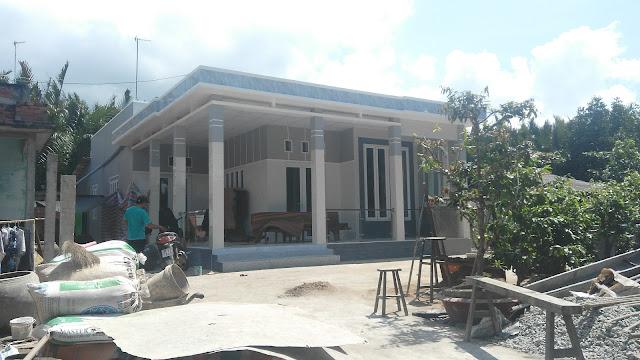 Công trình nhà ở sử dụng cửa window tại huyện Cần Đước Long An