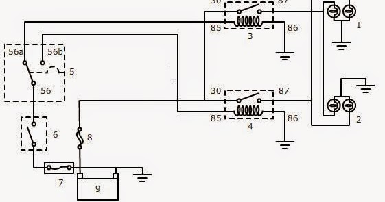 Diagram Wiring Diagram Lampu Kepala Mobil Full Version Hd Quality Kepala Mobil Autoborisov Mixandmatch Decoration Fr