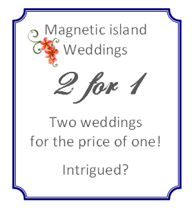 Double Wedding Magnetic Island Crusty Herron 2 couples 1 wedding elope