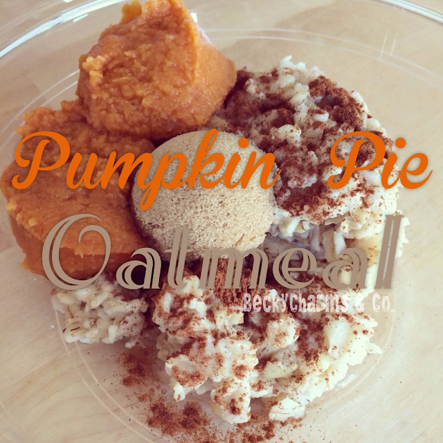 Pumpkin Pie Oatmeal by BeckyCharms