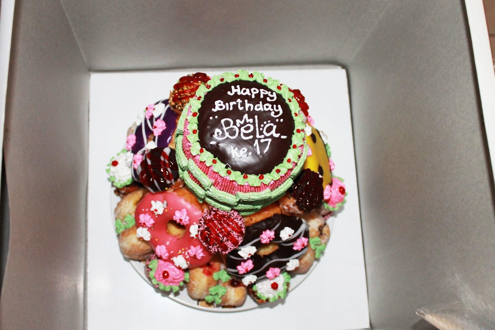 Harga Dunkin Donuts Birthday Cake