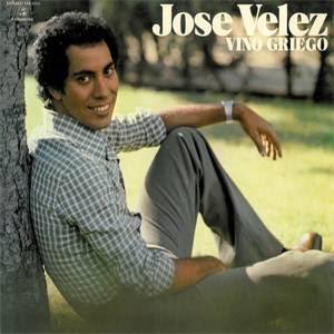 Vino Griego - José Vélez - Portada LP