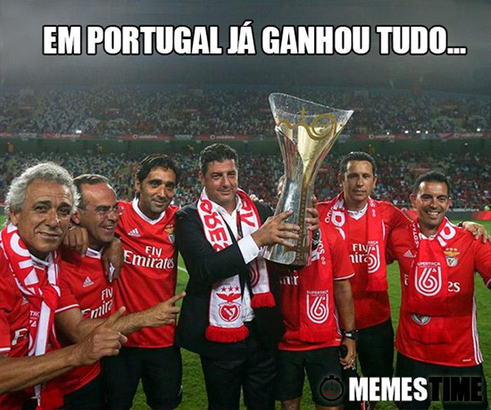 Memes Time Rui Vitória – Em Portugal já Ganhou Tudo…