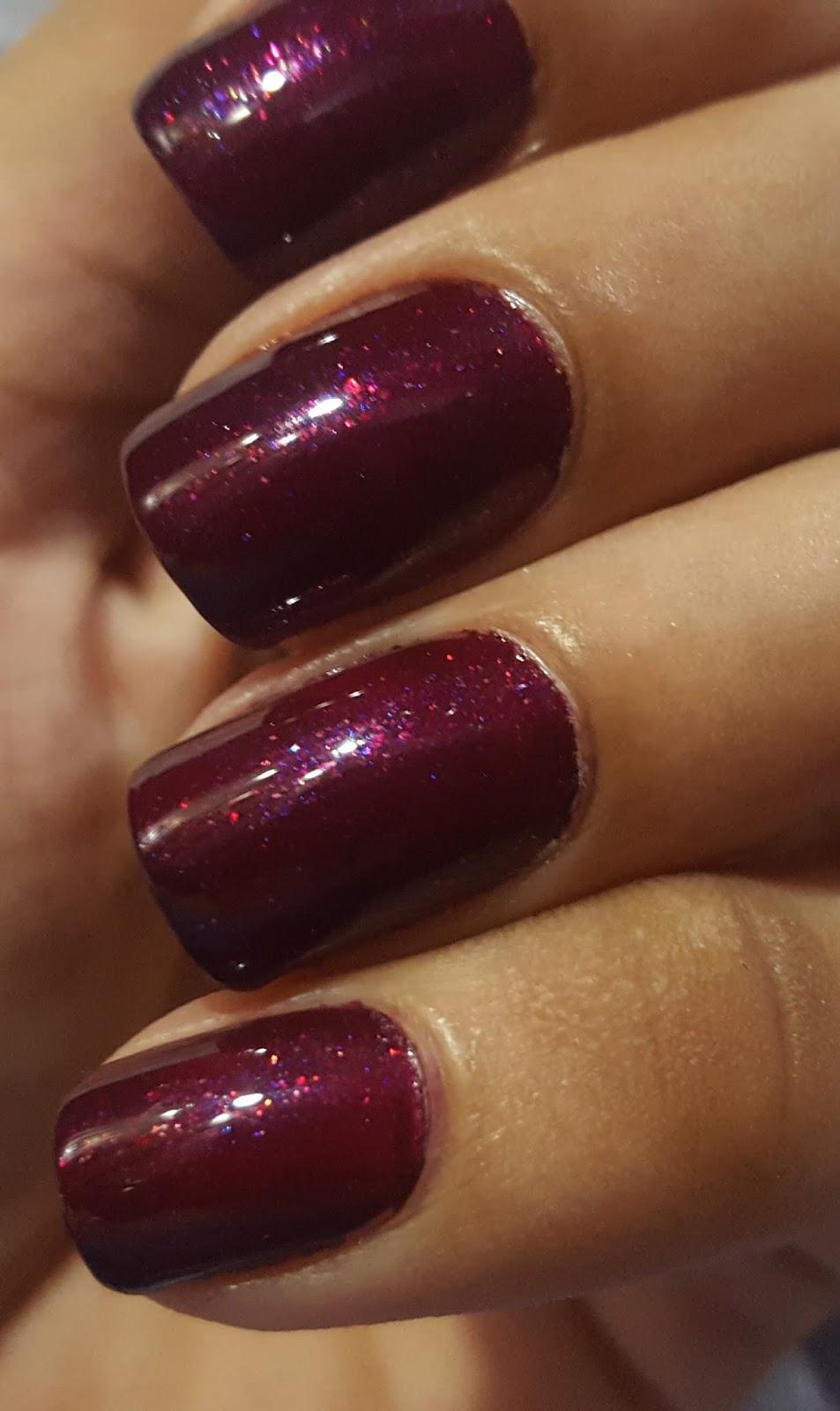 Ahoy! Nails!!: Lakme Absolute Gel Stylist Nail Polish - Burgundy ...