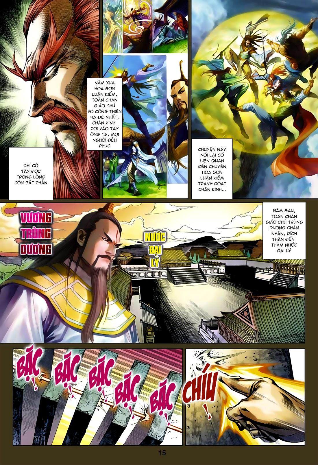 Anh Hùng Xạ Điêu anh hùng xạ đêu chap 75: hoàng thành cựu sự trang 15