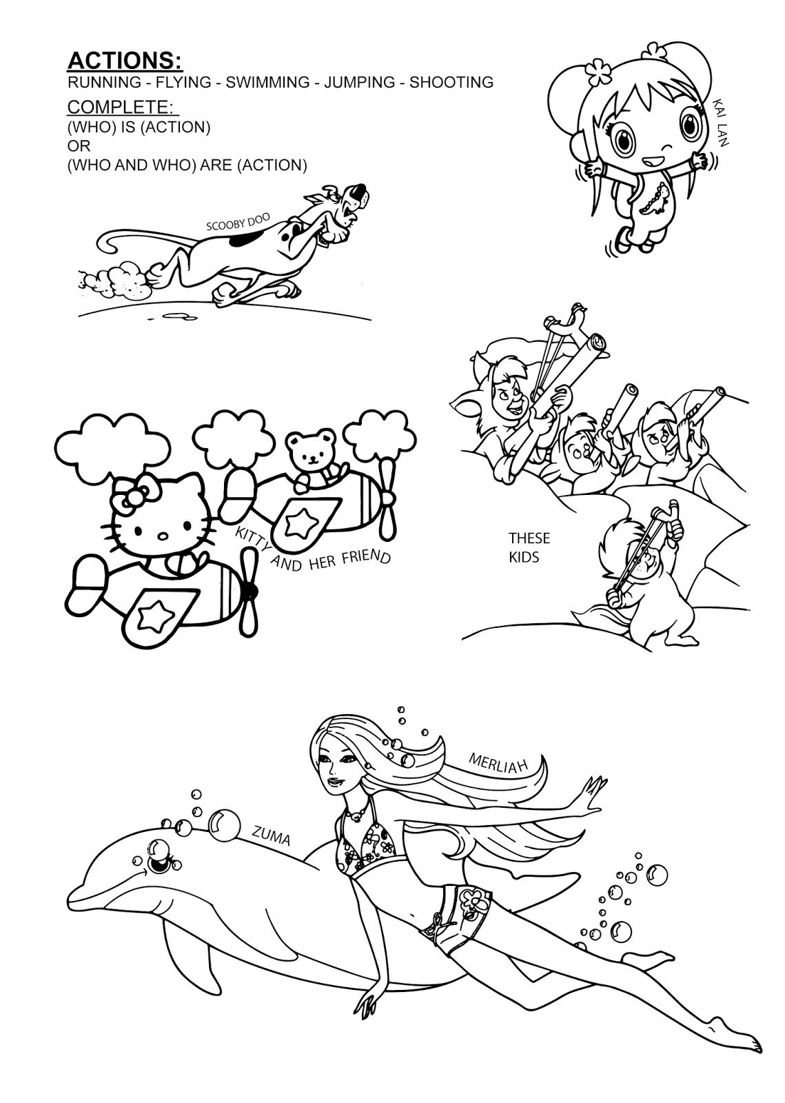 Paginas Para Colorear Originales Original Coloring Pages