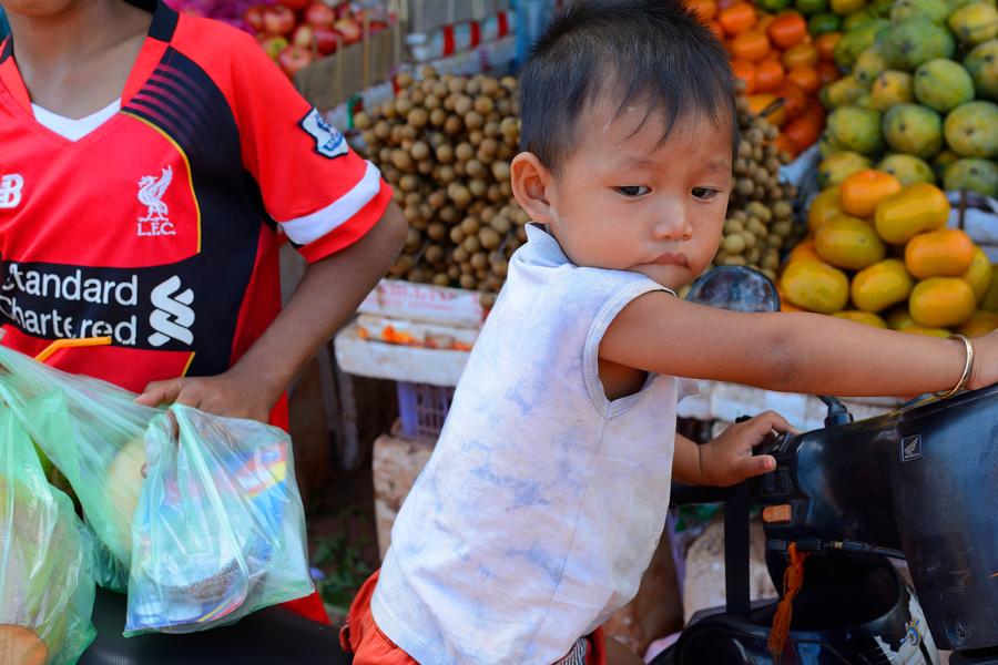 Dzieci Kambodża