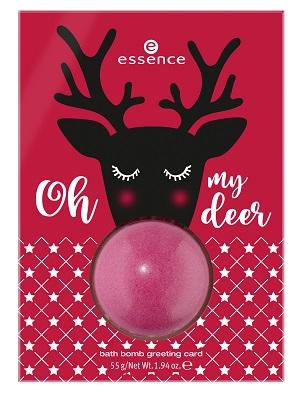 Edición Limitada de Navidad de Essence - Bath Bomb Greeting Card