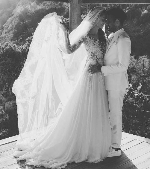 Vestido de noiva da Joana Sans