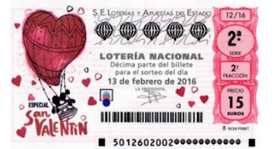loteria especial san valentin