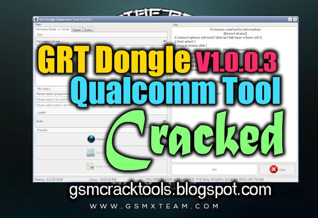GRT Dongle Qualcomm Tool V1.0.0.3 Full Cracked