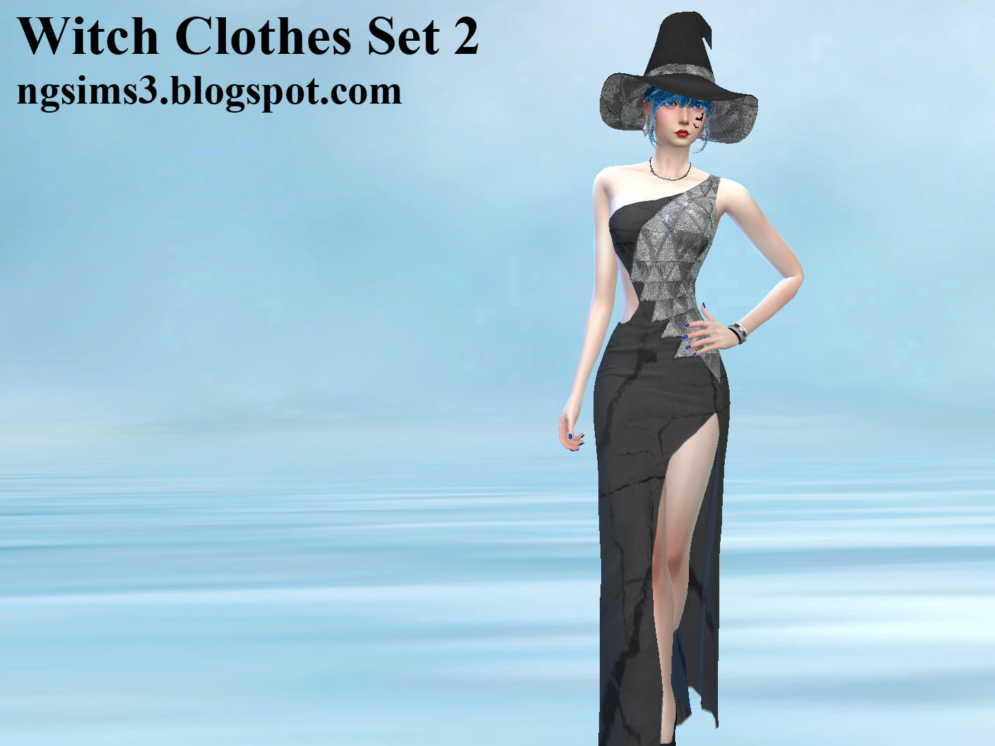 NG Sims 3: Witch Clothes Set 2