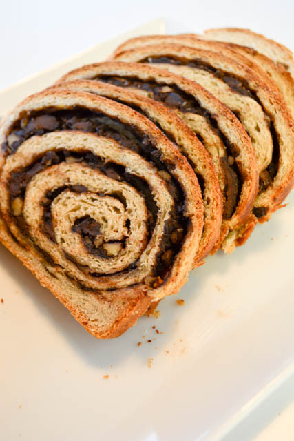 Featured Recipe | Chocolate Walnut Babka from I Am A Honeybee #recipe #SecretRecipeClub #bread #chocolate #walnuts