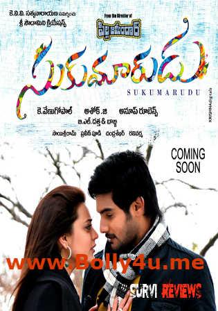 Sukumarudu 2013 HDRip 500MB UNCUT Hindi Dual Audio 480p ESub Watch Online Free Download bolly4u
