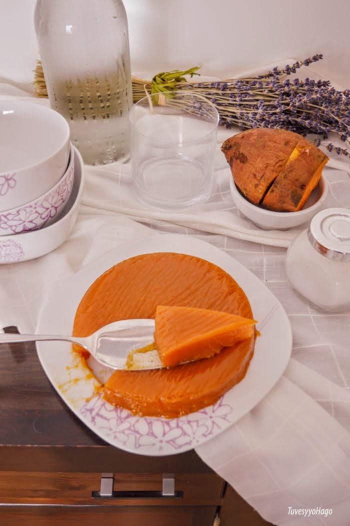 Dulce de Batata o Boniato - TuvesyyoHago