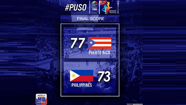 Gilas Pilipinas vs Puerto Rico Game Result and Summary: FIBA World Cup Basketball Game 2014