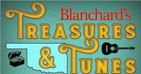 TREASURES AND TUNES IN BLANCHARD. NOVEMBER 3RD, 2018
