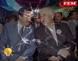 Fethullah Gülen Recep Tayyip Erdoğan birlikte