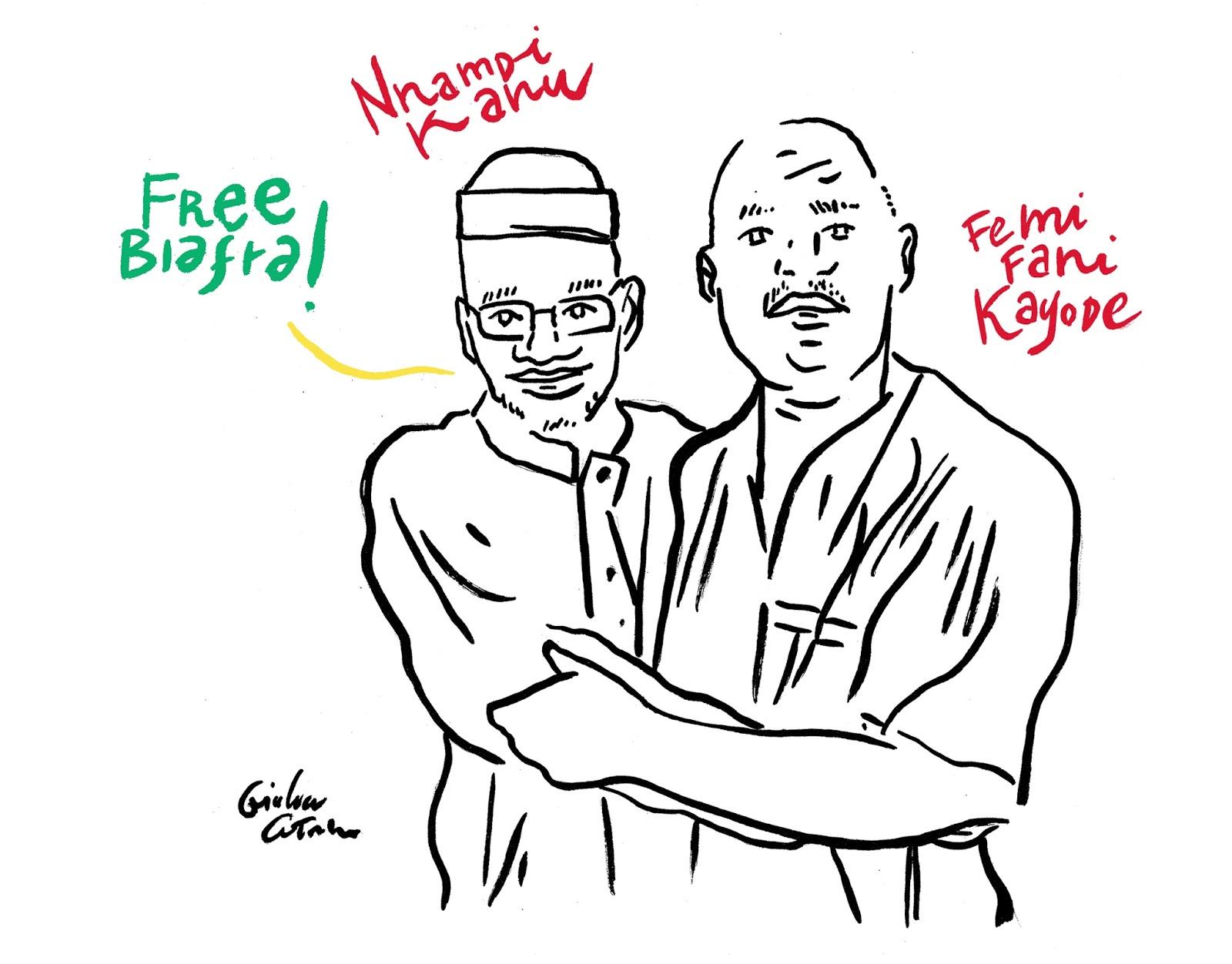 Channeldraw: Nnamdi Kanu and Femi Fani-Kayode